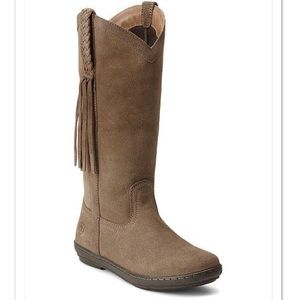 Ariat Sassafras Suede Leather Fringe Boots